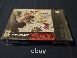 100% Complete! CIB Chrono Trigger (Super Nintendo, SNES) Inserts and Reg Card