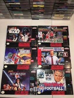 100+ Nintendo NES Super Nintendo SNES N64 Nintendo Games Lot & Consoles