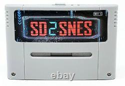 1800 in 1 SD2SNES Rev X Super Nintendo SNES FLASH CARTRIDGE 16GB RETRO GAMER