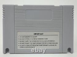 1800 in 1 SD2SNES Rev X Super Nintendo SNES FLASH CARTRIDGE 16GB SD Card ED64