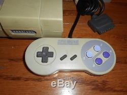 2 Super Nintendo consoles SNES bundle with 20 games lot Mario Zelda Donkey Kong