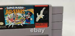 2 x Mario & Donkey Kong Country Super Nintendo Video Games, SNES, USA Versions