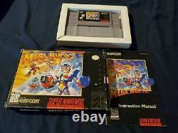 AMAZING! COMPLETE WITH MANUAL! Mega Man X3 SNES Super Nintendo CIB