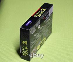 AUTHENTIC Pocky and Rocky 2 ORIGINAL SNES Super Nintendo game BOX