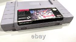 AUTHENTIC! Super Castlevania IV 4 (Super Nintendo, SNES, 1991) Tested & Working