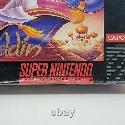 Aladdin Super Nintendo Entertainment System SNES Brand New Sealed