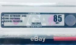 Alien vs. Predator Super Nintendo SNES SEALED V-SEAM VGA 85 NM+ SUPER RARE