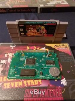 Amazing RPG SNES LOT! CHRONO TRIGGER, Mario RPG, OGRE BATTLE, Lufia Super Nintendo