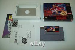 Animaniacs, Aladdin, Top Gear, Ren & Stimpy 5 boxed Super Nintendo SNES GAME LOT
