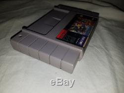 Authentic Original RARE Super Nintendo SNES Wild Guns TESTED & GUARANTEED