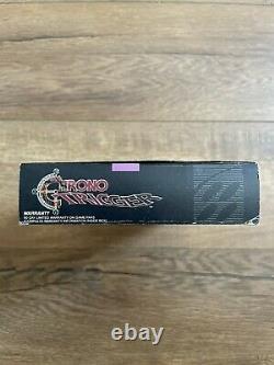 Authentic Super Nintendo SNES Chrono Trigger 100% Complete CIB Fast Shipping