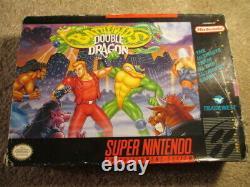 Battletoads Double Dragon (Super Nintendo SNES) Complete CIB with Ads + Card