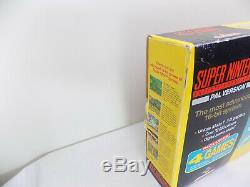 Boxed Super Nintendo Limited Collector's Super Mario All Stars Console SNES