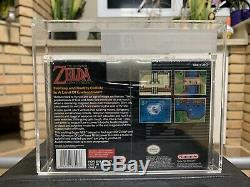 Brand New Factory Sealed Zelda Super Nintendo SNES VGA 75