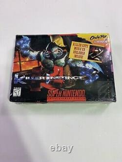 Brand New Killer Instinct Super Nintendo SNES NIB Sealed
