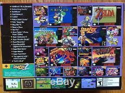Brand New Super Nintendo Entertainment System Super NES Classic Edition