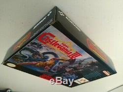 CASTLEVANIA IV 4 Super Nintendo SNES Complete In Box CIB & EXCELLENT + EUC