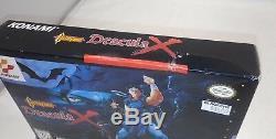 Castlevania DRACULA X (Super Nintendo) RARE BOX Only AUTHENTIC! SNES