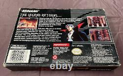 Castlevania Dracula X (Super Nintendo 1995) Complete CIB Box Manual SNES Tested