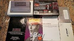 Castlevania Dracula X Super Nintendo SNES CIB Complete in Box all inserts