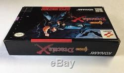 Castlevania Dracula X (Super Nintendo) Snes CIB 100% Complete Nr Mint Rare