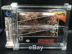 Chrono Trigger CRIMSON ECHOES SNES Super Nintendo Brand New WATA 9.8 GEM VGA