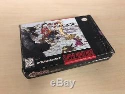 Chrono Trigger Complete SNES Game Super Nintendo CIB with Maps Rare
