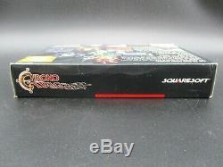 Chrono Trigger OVP CIB SNES Super Nintendo NTSC TOP