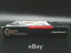 Chrono Trigger OVP CIB SNES Super Nintendo NTSC TOP Complete Inkl Postcard
