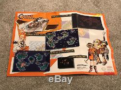 Chrono Trigger SNES Super Nintendo No Cart Complete Box/Manual/Maps/Tray
