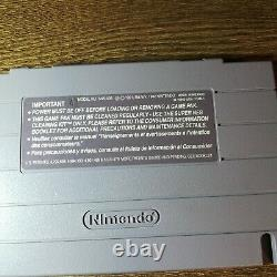 Chrono Trigger (SNES Super Nintendo) With Manual & Inserts, (Tested, Authentic)