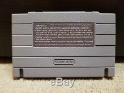 Chrono Trigger SNES (Super Nintendo) with Box and Manual Cleaned/Tested