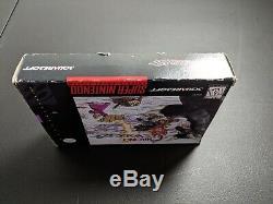 Chrono Trigger Squaresoft Official Authentic Box only Super Nintendo SNES EX cnd