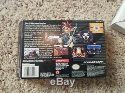 Chrono Trigger (Super Nintendo, SNES, 1995), Complete, CIB, Tested, Authentic