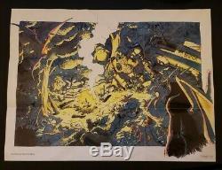 Chrono Trigger Super Nintendo SNES 1995 /w original game manual and map poster