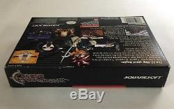 Chrono Trigger Super Nintendo SNES CIB 100% Complete Near Mint