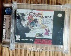 Chrono Trigger Super Nintendo SNES Near Mint CIB WATA 7.5 Squaresoft rArE wOw