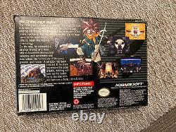 Chrono Trigger game, Complete w Box, Manual, Etc. (for SNES Super Nintendo)