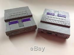 Classic Retro Raspberry Pi 3b Super Nintendo Retropie WithO SNES Controllers