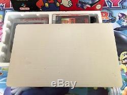 Consola Super Nintendo Snes 1chip Versión Pal España 5 Stars Pack 100% Original