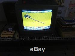 Console TV Super Nintendo SNES SFC SHARP Sf1 RARE Japonaise television TESTED