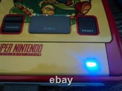 Custom Super Mario Nintendo SNES Console PAL Super Nintendo