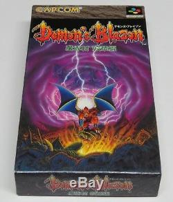 Demon's Blazon Demons Crest Super Famicom Japan JPN BRAND NEW GAME
