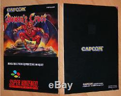 Demon's Crest EUR SNES Super NES Nintendo PAL CIB OVP VGC RAR