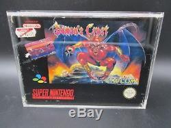 Demons Crest SNES OVP CIB Super Nintendo Inklusive Ninodo Acryl Game Case