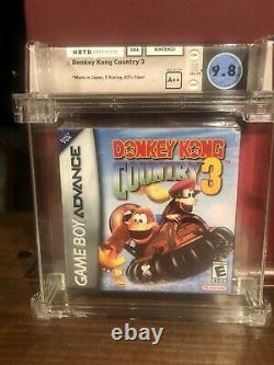 Donkey Kong Country 3 WATA 9.8 A++ Sealed SNES Super Nintendo GBA Game Boy