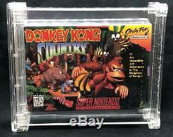 Donkey Kong Country SNES Super Nintendo Sealed! WATA Graded 7.0/B