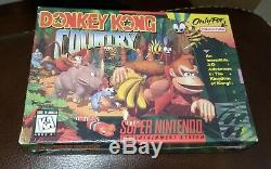 Donkey Kong Country (Super Nintendo Entertainment System) SNES New & Sealed 1st