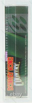 Donkey Kong Country Super Nintendo SNES NEW SEALED GRADED VGA 85+ GRAIL RAR