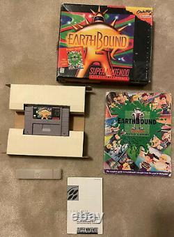 EARTHBOUND CIB Super Nintendo SNES Complete in Big Box Authentic Earth Bound